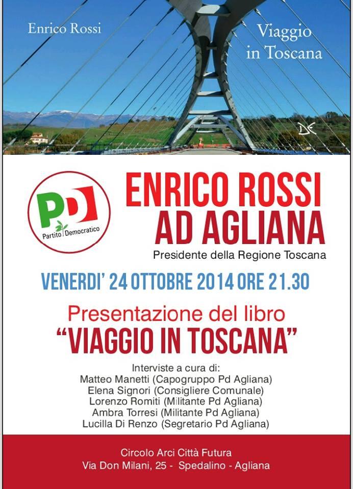Enrico Rossi ad Agliana