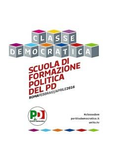 Scuola democratica Pd 2016