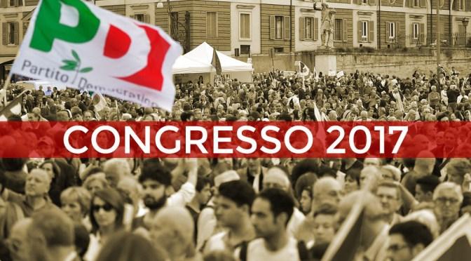 Congresso Pd Nazionale - Presentazione delle Mozioni ad Agliana